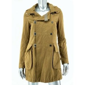 G Star Raw Womens Sz Small Legionnaire Hooded Coat
